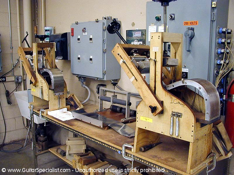 guitar side bending machine